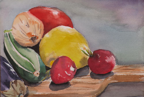 Still Life By Debbie Homewood Canadian Watercolor Artist
