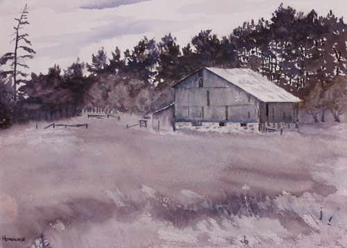 Architecture and building watercolour paintings - Debbie ...